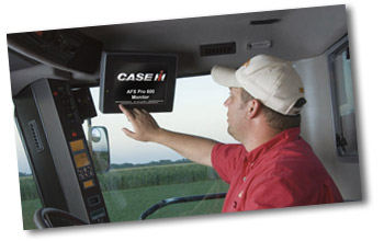 Case IH AFS Yield & Moisture Monitoring