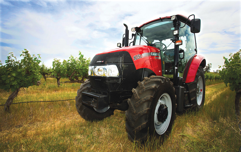 vineyard farmall c narrow