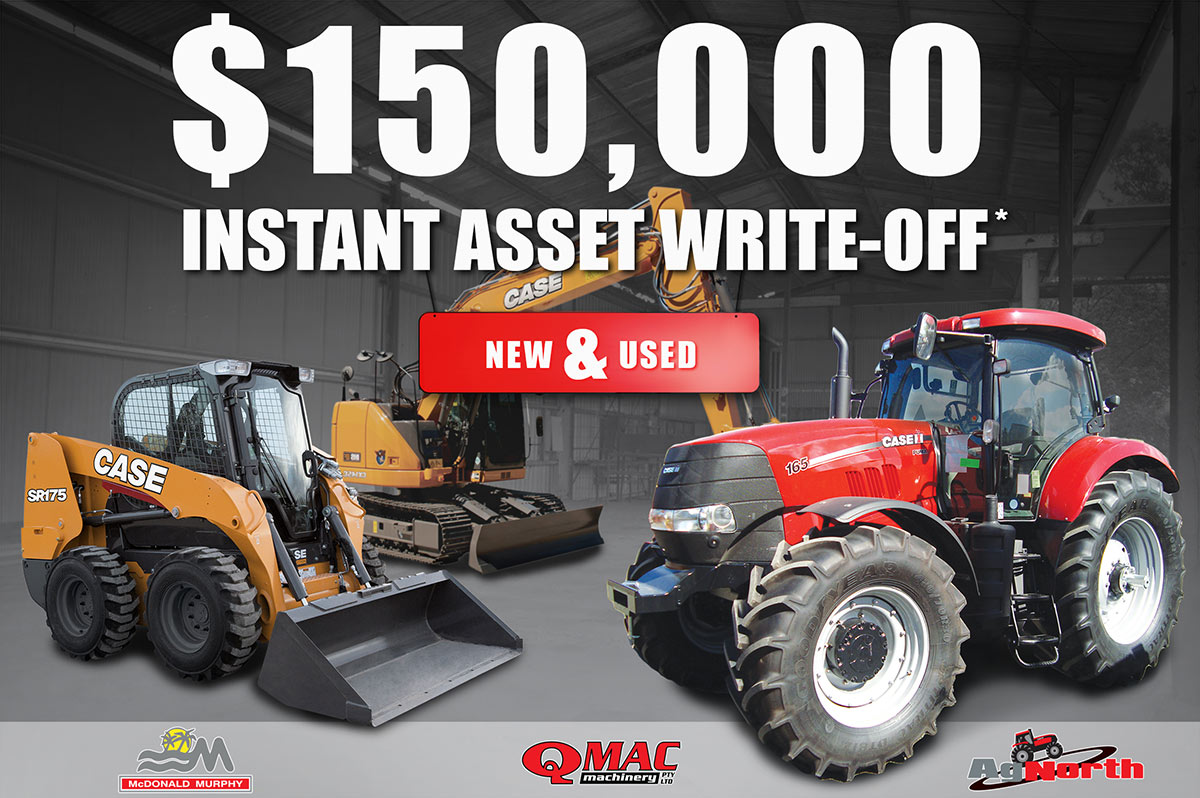 150k instant tax write off new used