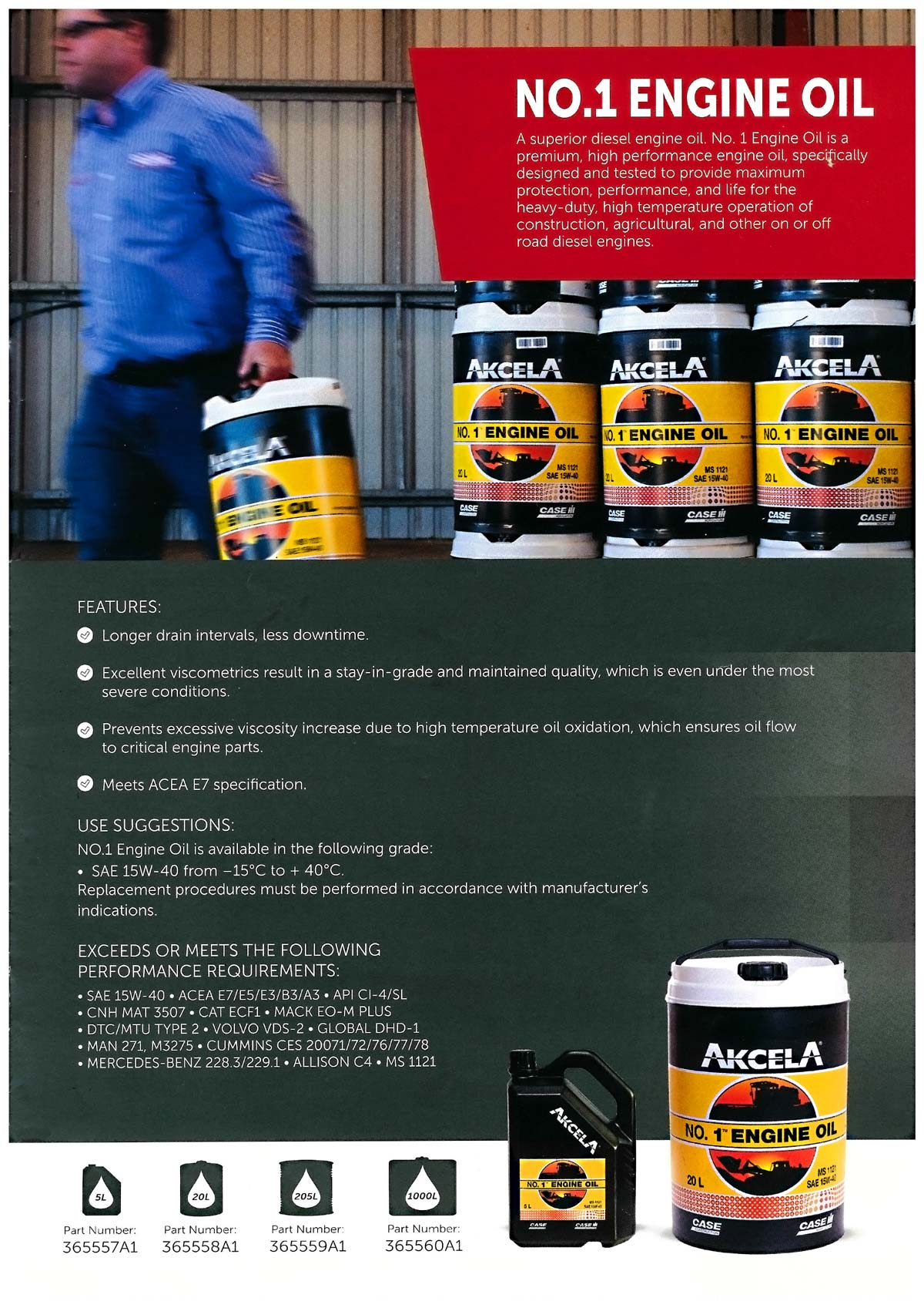 Akcela No 1 Engine Oil promo