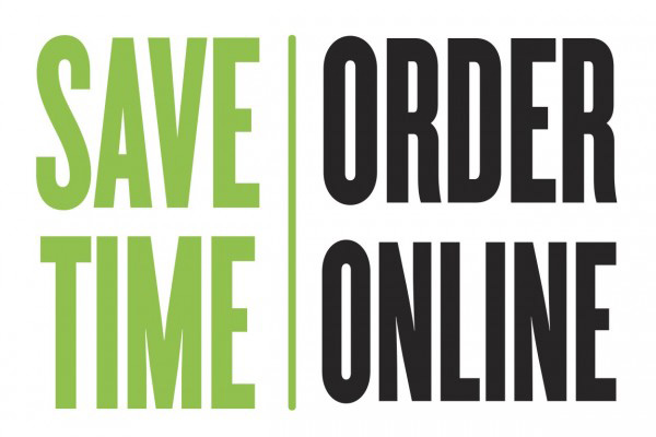 save time order online web